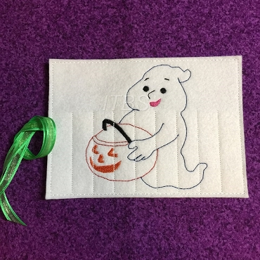 Ghost candy crayon buddy 4x4 and 5x7
