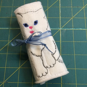Kitty crayon buddy 4x4 and 5x7