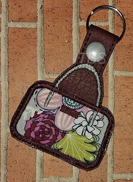 Applique purse key fob 4x4