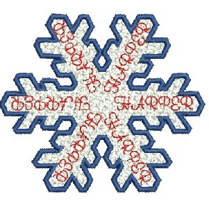 Harper free staning lace snowflake 4x4