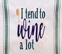 I tend to wine alot with bottle 6x8 regular design